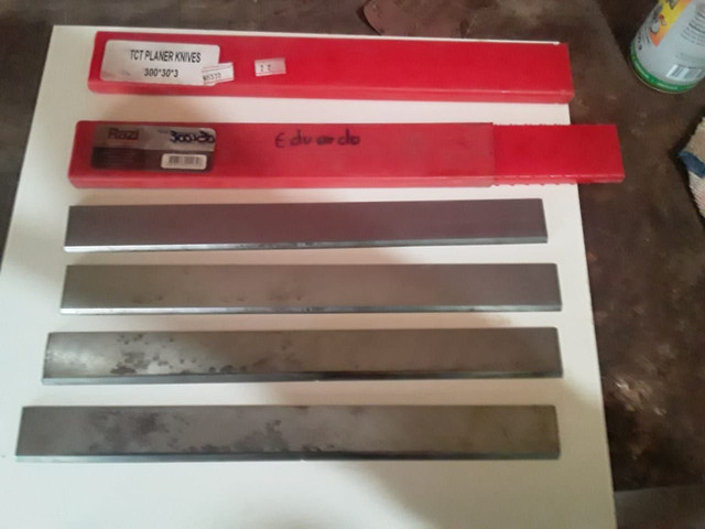 Kit 4 facas Widea para plaina - Foto 3