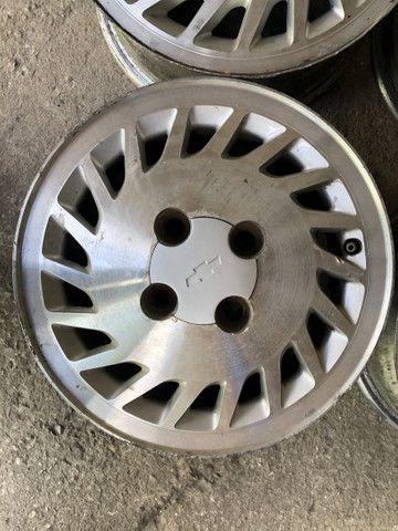 Jogo de rodas de Monza Kadett Chevette aro 13 - Foto 5