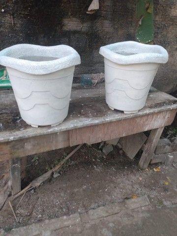 Vasos de cimento para plantas - Foto 4