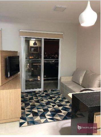 Apartamento com 1 dormitório para alugar, 34 m² por R$ 2.200,00/mês - Jardim Panorama - Sã