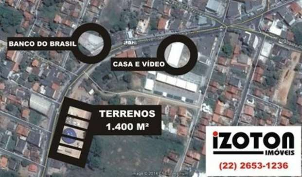 Lotes comerciais 1.400 M2 em Bacaxá #ce11