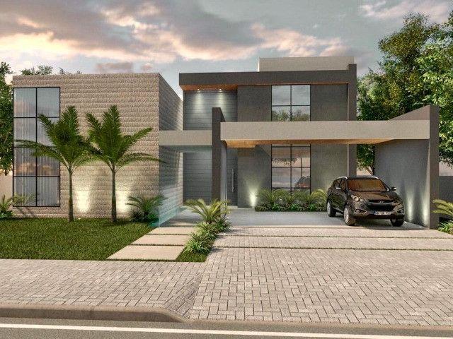 Casa nova  , com 4 suítes,  saindo do forno, no Condomínio Laguna .
