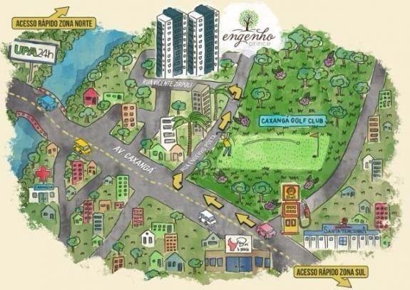 (L)Seu novo lar na zona oeste do Recife 2 Quartos 1 suíte | Andar Alto - Foto 15