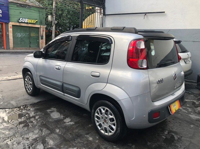 Fiat Uno Vivace 1.0 completíssima - Baixa km! Nova demais! - Foto 4