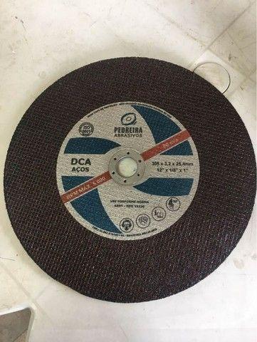 Disco De Corte 12 Polegadas - Furo 3/4 Para Metal - Foto 3