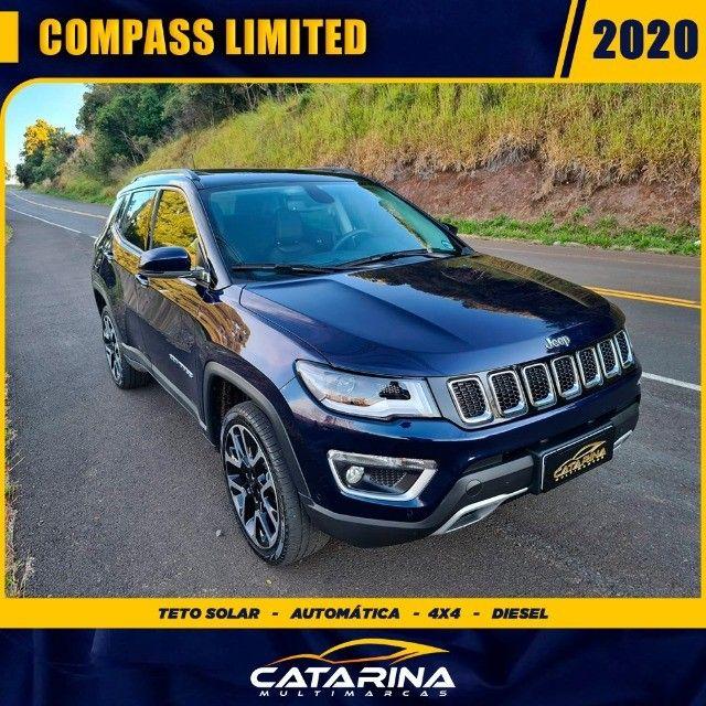 Jeep Compass Limited 2020 com teto  - Foto 6