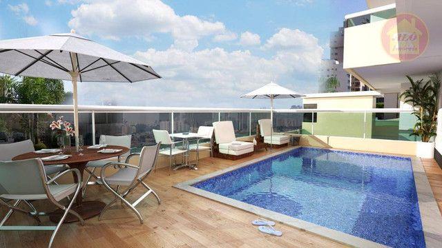 Apartamento com 2 dormitórios à venda, 68 m² por R$ 314.600 - Vila Guilhermina - Praia Gra