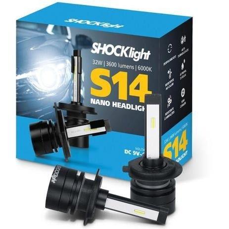 Lâmpada Super Led Nano Shocklight S14 h7/H1