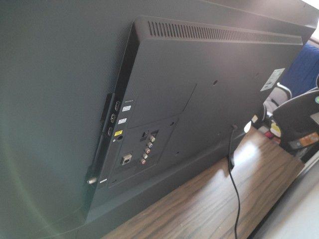 """Vendo Tv Samsung smart 43"""" ou troco por uma de 60 - Foto 3"""