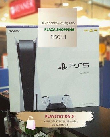 playstation 5 novo