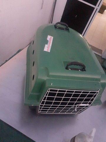 Caixa de transporte semi nova cachorro  - Foto 2