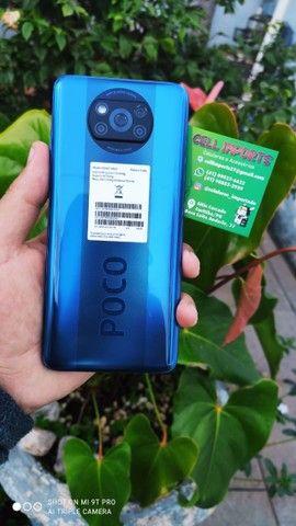 Xiaomi Poco X3 Pro NFC Dual Sim 256Gb/8Gb Com 6 Meses De Garantia Cor Dourado/Azul - Foto 5