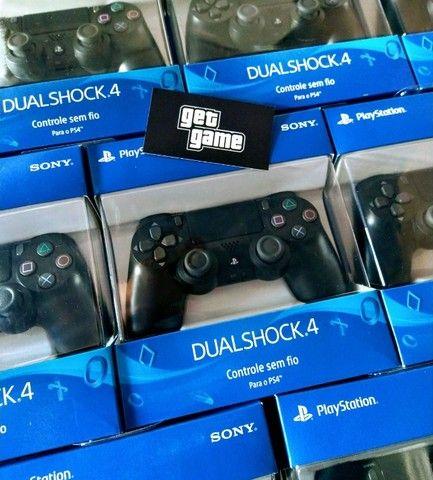 Controle PS4 Novo / Lacrado e com Garantia - Foto 2