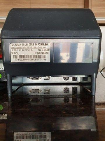 Impressora Térmica, não fiscal Daruma dr800H, semi nova, 500 - Foto 3