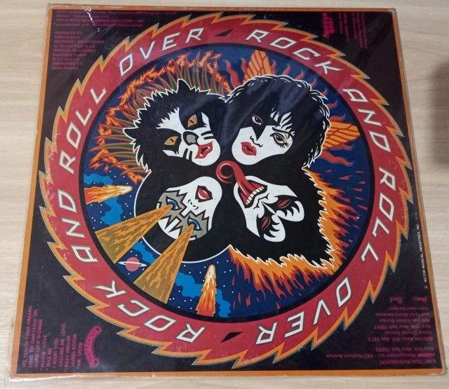 LP Kiss-Rock And Roll Over (1976) Casablanca - VIP-6376 Ed. Japão Vinil - Foto 2