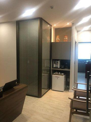 Quer luxo???sala com 3 ambientes todo planejado!!!!415no.rosa e.silva - Foto 3