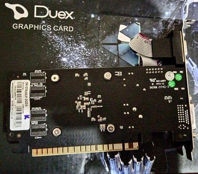 Vendo placa de video  DX gt610lp-2G d3   - Foto 3