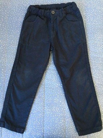 Calça jeans Gangster e brim Milon tamanho 4 - Foto 4