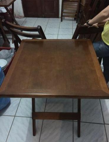 Mesas e Cadeiras de Madeira - TOP