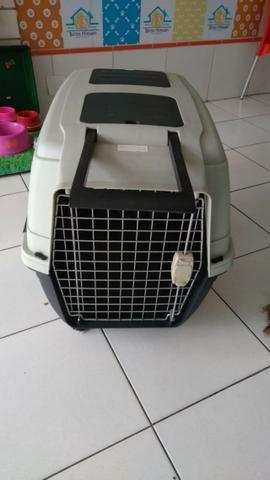 Caixa de Transporte para Cães - Tamanho Médio