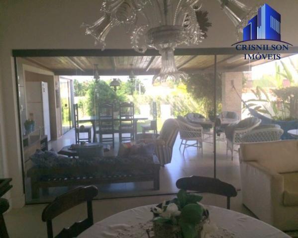 Casa à venda alphaville ii salvador, r$ 1.350.000,00, excelente casa térrea com jardim, am - Foto 15