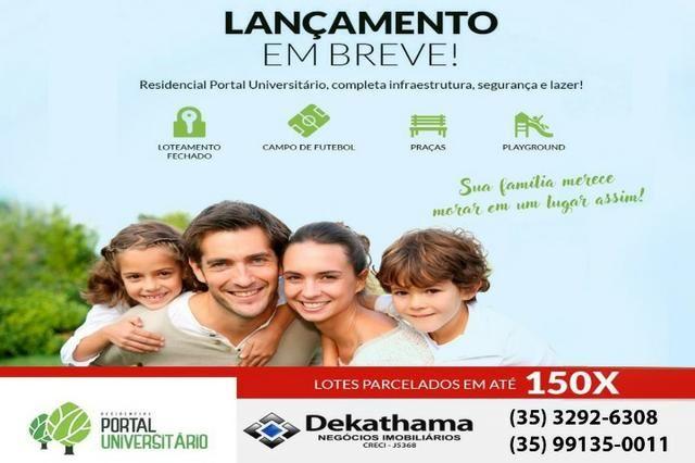 Terreno á venda financiamento próprio (Loteamento Residencial Portal Universitário) - Foto 2