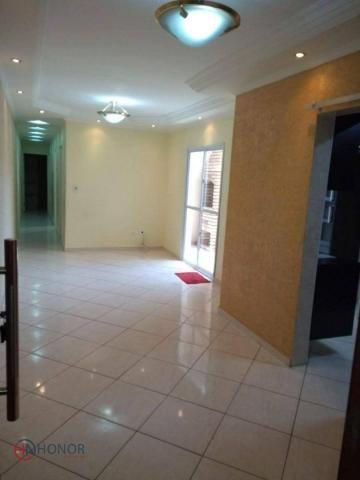 Apartamento com 3 dormitórios à venda, 90 m² por r$ 399.000 - parque das nações - santo an