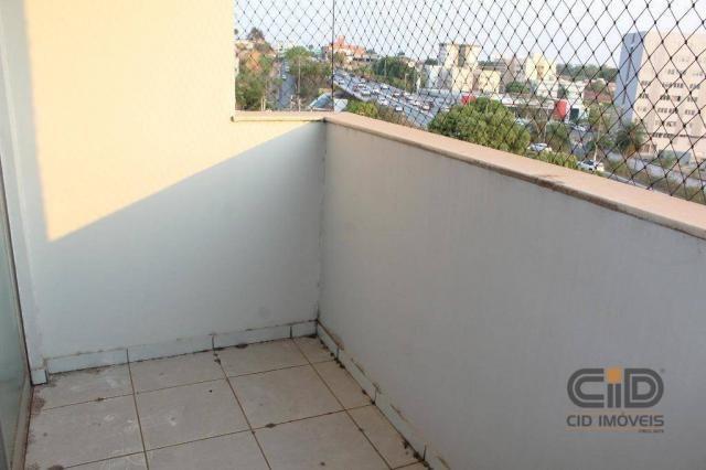 Apartamento com 3 dormitórios para alugar, 120 m² por r$ 1.900,00/mês - miguel sutil - cui - Foto 6