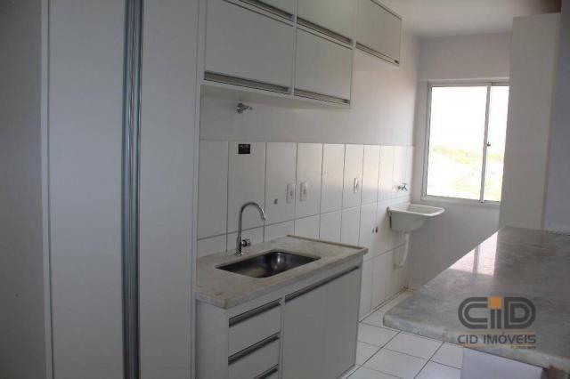 Apartamento duplex com 3 dormitórios para alugar, 108 m² por r$ 1.800/mês - goiabeiras - c - Foto 4