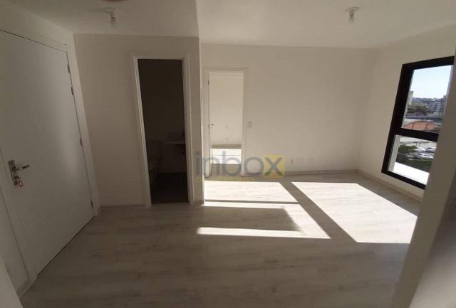 Ótimo apartamento de 1 dormitório para alugar, 42 m² por R$ 1.800/mês - Central Parque - P