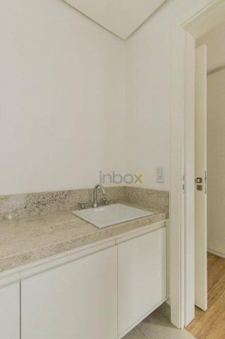 Lindo apartamento 3 suítes semi mobiliado com 116m privativos - Foto 13