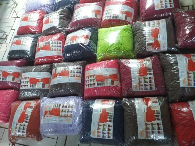 Capa capa de sofá de canto apronta entrega - Foto 2