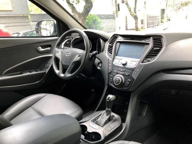Hyundai Santa Fé GLS V6 Automática Blindada Nivel lll A 2015 - Foto 7