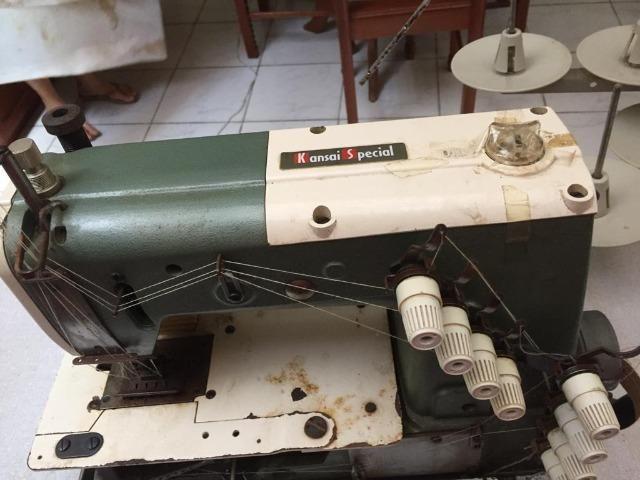Maquina de Costura - Pan Custura 4 Agulhas