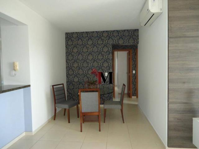 Alugamos apartamento semi mobiliado com 3 quartos em excelente localização - Foto 14
