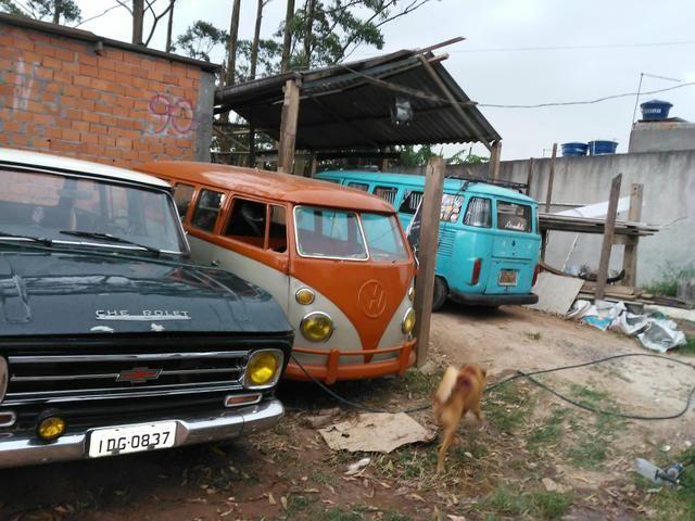 Kombi corujinha semi furgao 73 - Foto 5