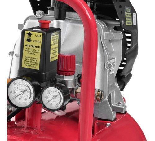 Compressor de ar 50 litros 2 hp potente novo de fabrica e preço de custo - Foto 3
