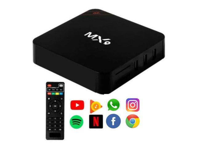 Tv Box Smart Melhor Conversor Digital Original E Lacrado - Foto 2