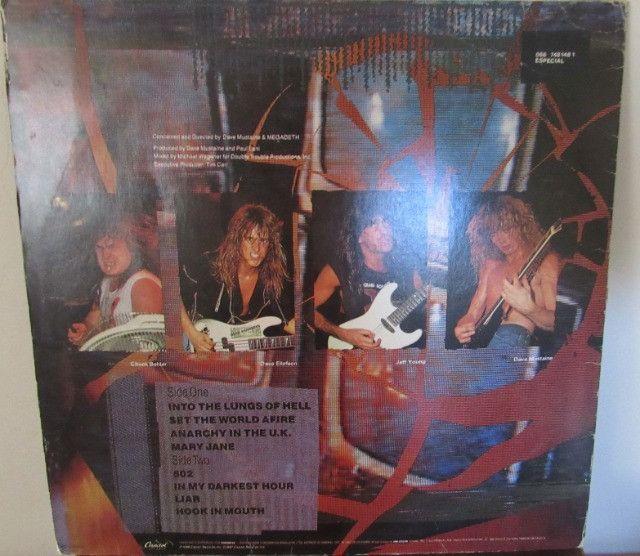 Lp - Megadeth - So Far So Good So What!!- Disco De Vinil 1visita - Foto 2