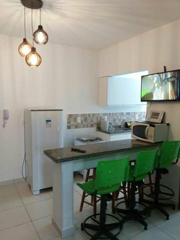 Apartamento mobiliado de TEMPORADA novinho bem localizado - Foto 4