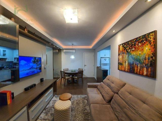Apartamento com 2 dormitórios, 74m² por R$ 615.000,00- Trindade - Florianópolis/SC