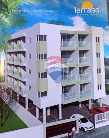 Apartamento em praia de Jacuma