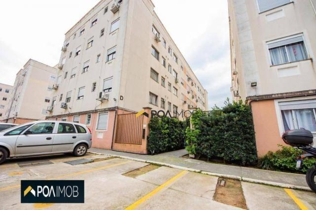 Apartamento com 2 dormitórios para alugar, 54 m² por R$ 1.800,00/mês - Protásio Alves - Po - Foto 19