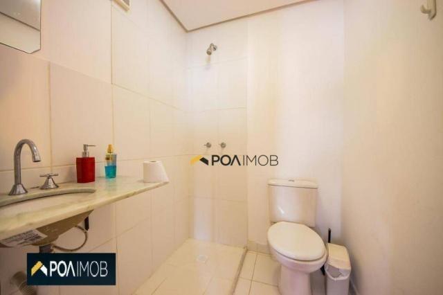 Apartamento com 2 dormitórios para alugar, 54 m² por R$ 1.800,00/mês - Protásio Alves - Po - Foto 15