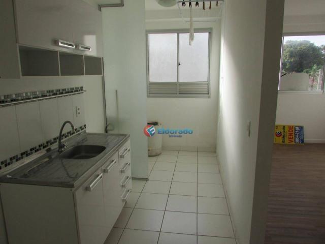 Apartamento com 1 dormitório para alugar, 49 m² por R$ 600/mês - Parque Yolanda (Nova Vene