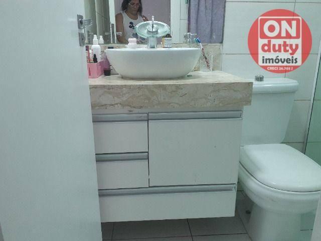 Apartamento com 2 dormitórios à venda, 67 m² por R$ 165.000,00 - Saboó - Santos/SP - Foto 10