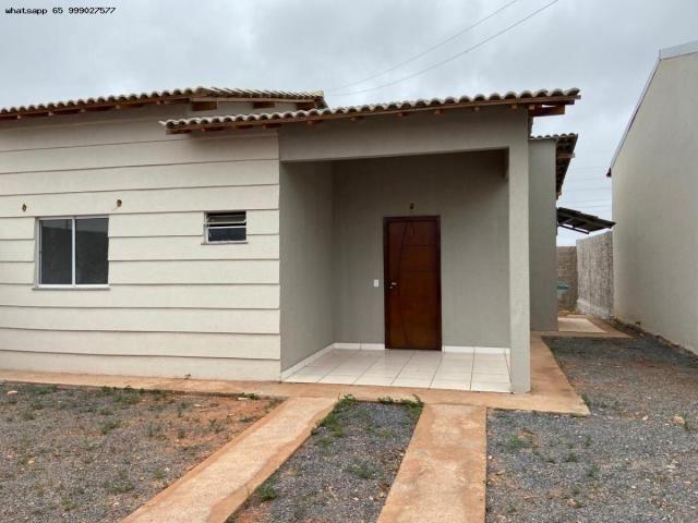 Casa para Venda em Várzea Grande, Jequitibá, 2 dormitórios, 1 banheiro, 2 vagas