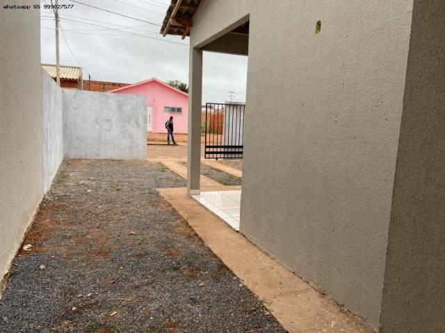 Casa para Venda em Várzea Grande, Jequitibá, 2 dormitórios, 1 banheiro, 2 vagas - Foto 5