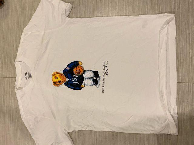 Polo Ralph Lauren t-shirt urso m g gg originais  - Foto 2