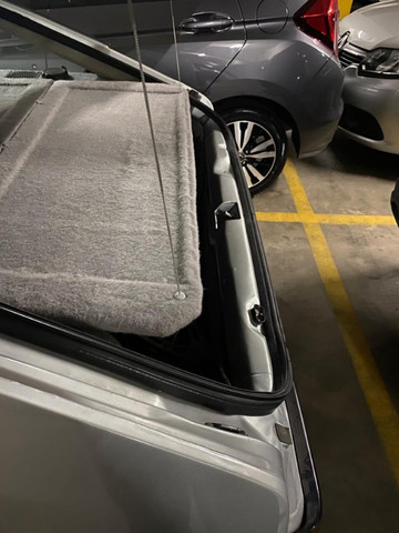 Exclusidade! Tampão porta malas monza hatch - similar - Foto 4